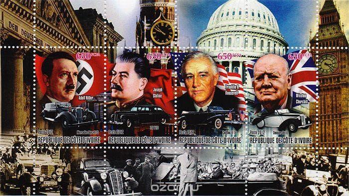 Суспільство Запитання-цікавинка: Хто з керівників чотирьох основних країн - учасниць Другої світової війни був найвищим?