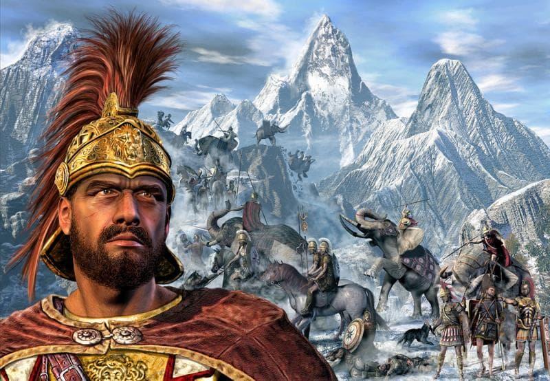 Geschichte Wissensfrage: Welcher karthagische Heerführer überquerte mit fast 40 Elefanten einst die Alpen?