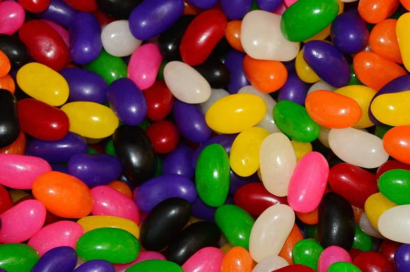 History Trivia Question: How many official jelly bean flavors does The Jelly Belly Company have?