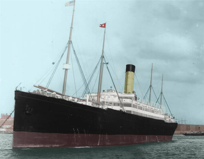 History Trivia Question: What is the name of this famous luxury liner?