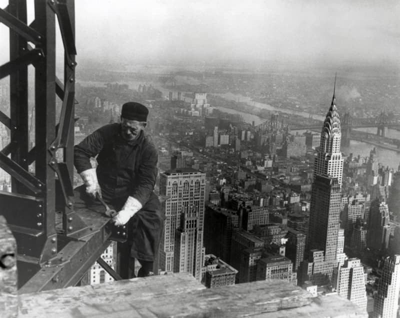 Society Trivia Question: Which Native Americans were particularly sought for construction work on skyscrapers?