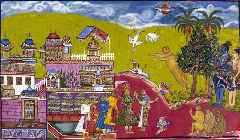 Culture Trivia Question: Who authored Ramayana, the great epic of India?
