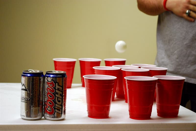Culture Trivia Question: Another name for beer pong is?