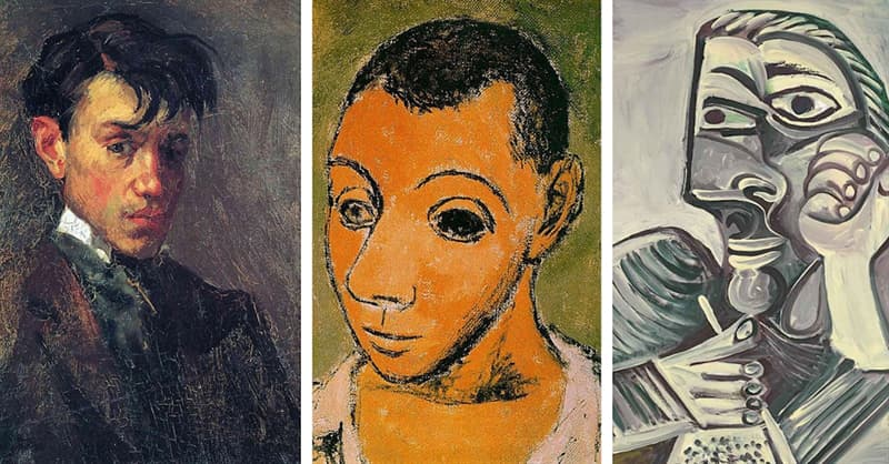 Culture Trivia Question: At what age did Picasso paint his first self portrait?