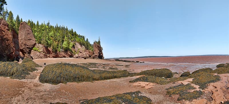 Geography Trivia Question: Bay of Fundy is known for having the highest tidal range in the world. Where is it located?