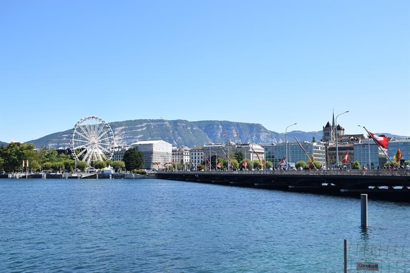 Географія Запитання-цікавинка: На якому приблизно відстані від Женеви знаходиться (по прямій) найближча столиця європейської держави?