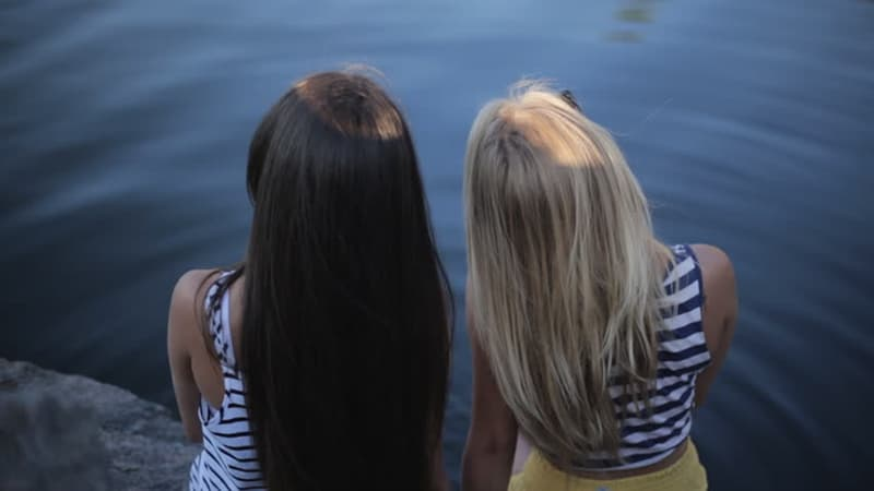 Science Trivia Question: Natural blondes have more hair than natural brunettes.