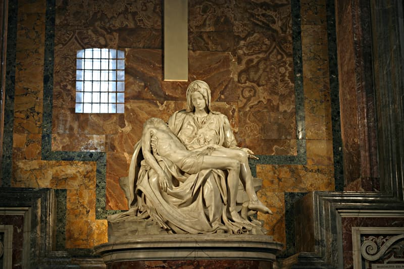 History Trivia Question: One of the NY Worlds fair's most popular exhibits was the Vatican Pavilion, where Michelangelo's Pietà was displayed and brought in from St Peter's Basilica with the permission of Pope John XXIII.