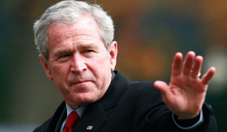 """Historia Pregunta Trivia: ¿Cuál de los siguiente países no era parte del """"eje del mal"""" referido por George W.Bush?"""