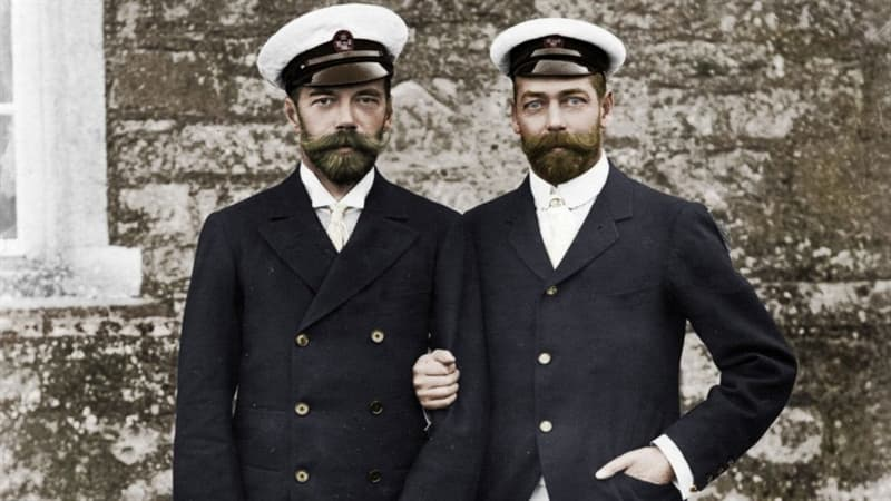 History Trivia Question: The heads of three of the main warring countries at the outbreak of WW1 were cousins.