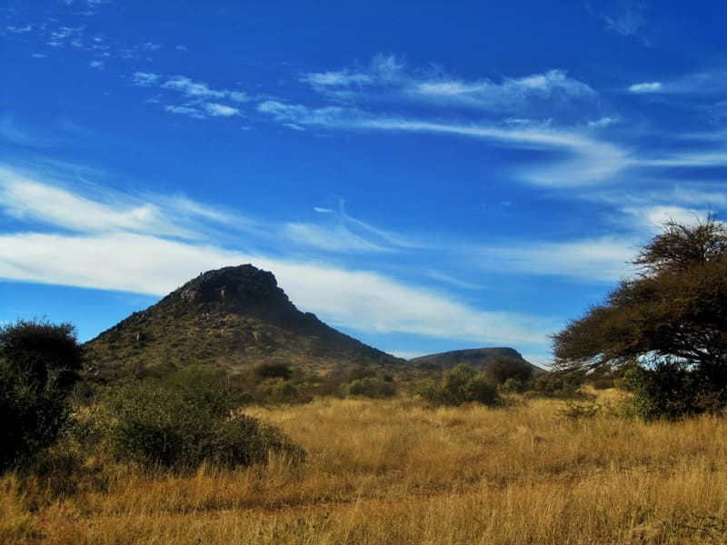 Geography Trivia Question: Where is the semi-desert region Karoo located?