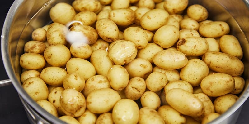 Culture Trivia Question: The potato is believed to have originated in what country?