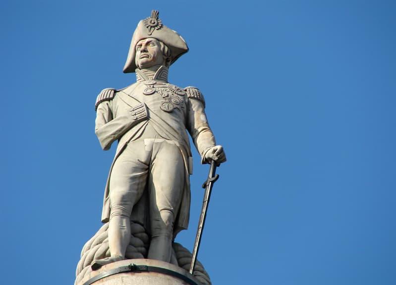 Історія Запитання-цікавинка: Чи вірно твердження, що знаменитий британський адмірал Нельсон все життя страждав від морської хвороби?