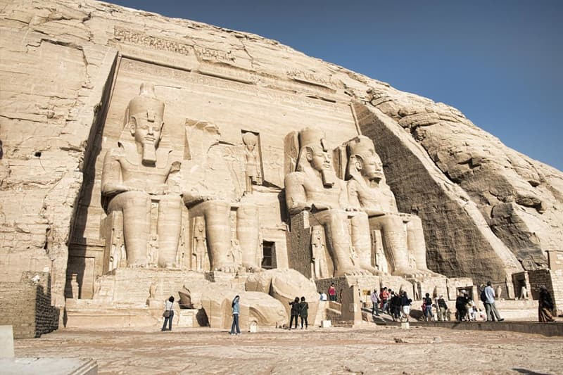 Geography Trivia Question: What country is south of Egypt and shares a border with Egypt?