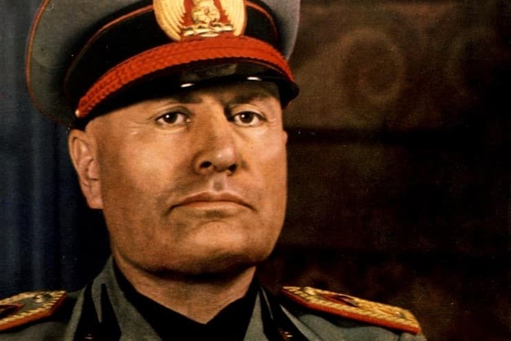 History Trivia Question: What education credentials did Benito Mussolini possess?