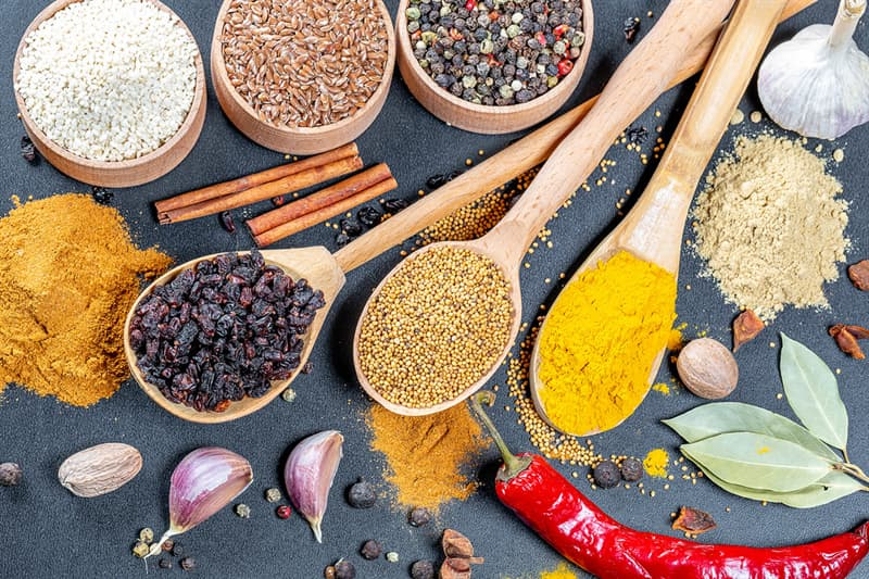 """History Trivia Question: What three spices were only available to Europeans in the Middle Ages from the """"Spice Islands"""" of the Moluccas (Indonesia)?"""