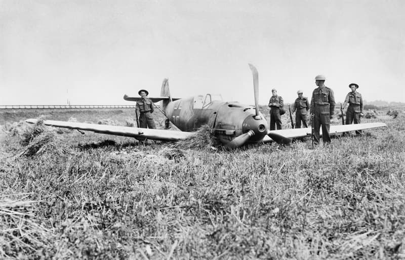 History Trivia Question: What was unusual about the Battle of Britain?
