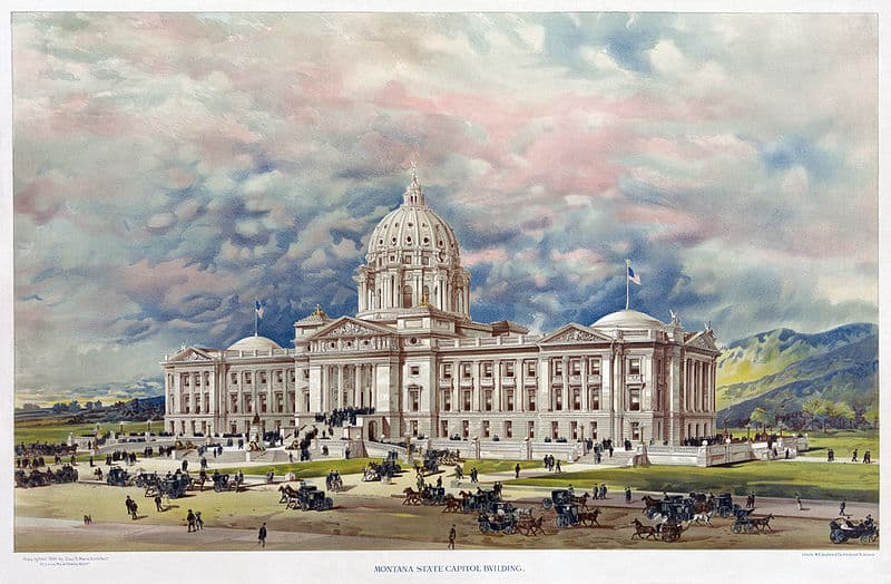 History Trivia Question: When did Montana achieve statehood?