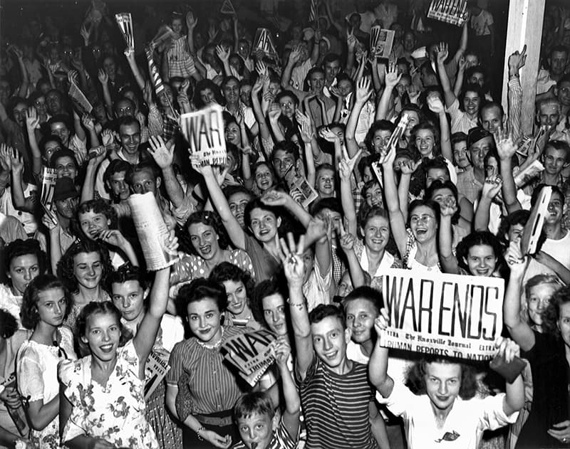 History Trivia Question: When is The World War II Victory over Japan Day (V-J day) commemorated?