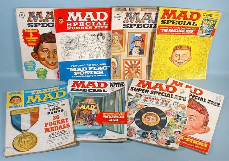 """Kultura Pytanie-Ciekawostka: Kiedy założono czasopismo """"Mad""""?"""