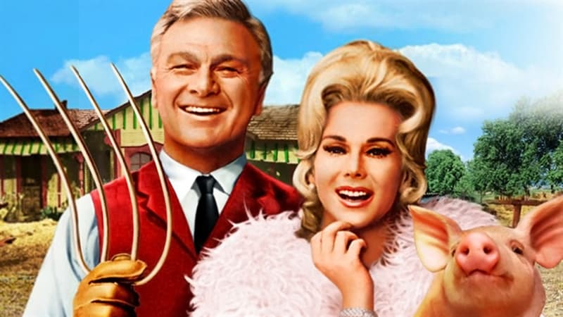 Movies & TV Trivia Question: Where was the telephone on the Douglas farm in Green Acres?