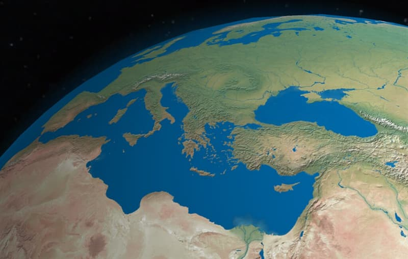 Geography Trivia Question: Which of these cities does NOT border a country with a coastline on the Mediterranean Sea?