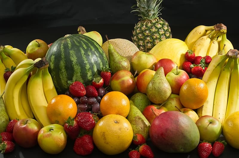 Nature Trivia Question: Which of these four fruits contains the most fat?