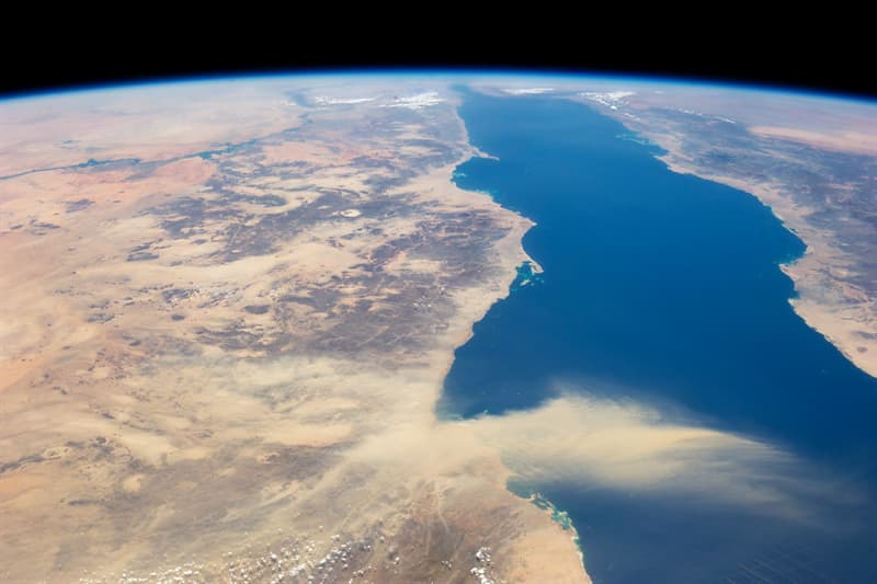 Geography Trivia Question: Which sea separates Egypt from Saudi Arabia?