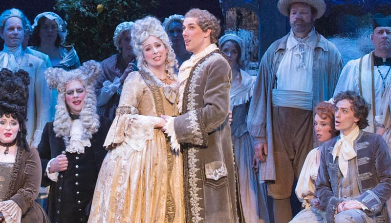 Culture Trivia Question: Who composed 'The Marriage of Figaro'?