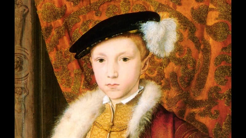 History Trivia Question: Who did King Edward VI originally name as his successor?