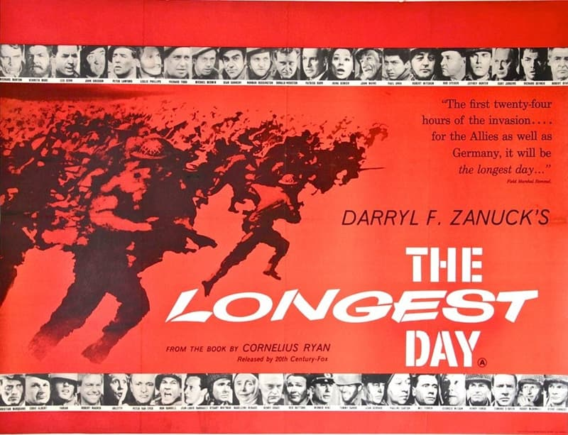 """Movies & TV Trivia Question: Who didn't star in the movie """"The Longest Day""""?"""