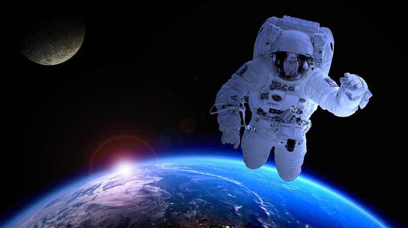 Society Trivia Question: Who was the first commercial astronaut?