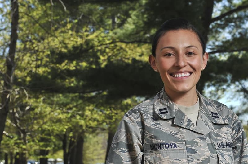 Society Trivia Question: Who was the first Hispanic woman to graduate from any service academy?