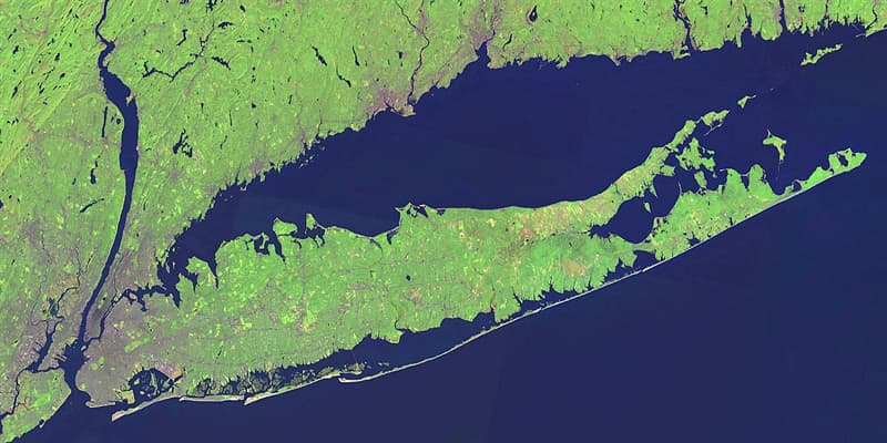 Geography Trivia Question: How long is Long Island, N.Y. (from New York Harbor to Montauk point)?