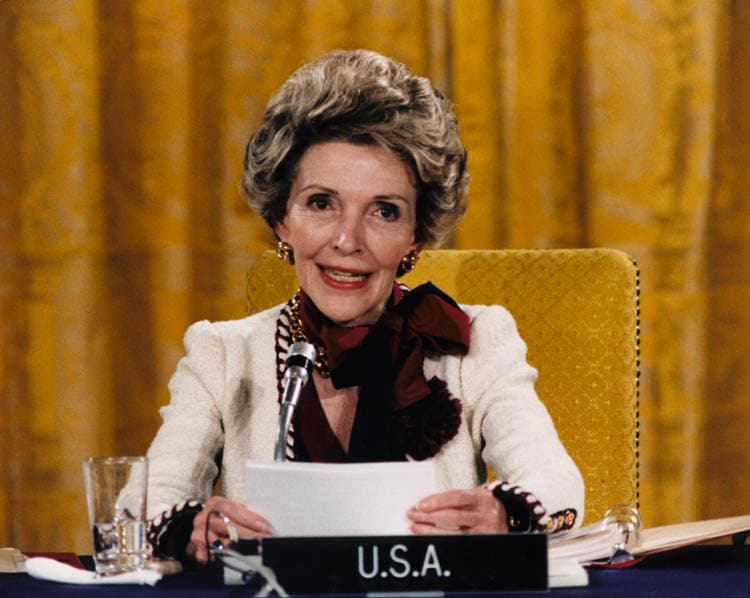 History Trivia Question: How old was Nancy Reagan when she died?