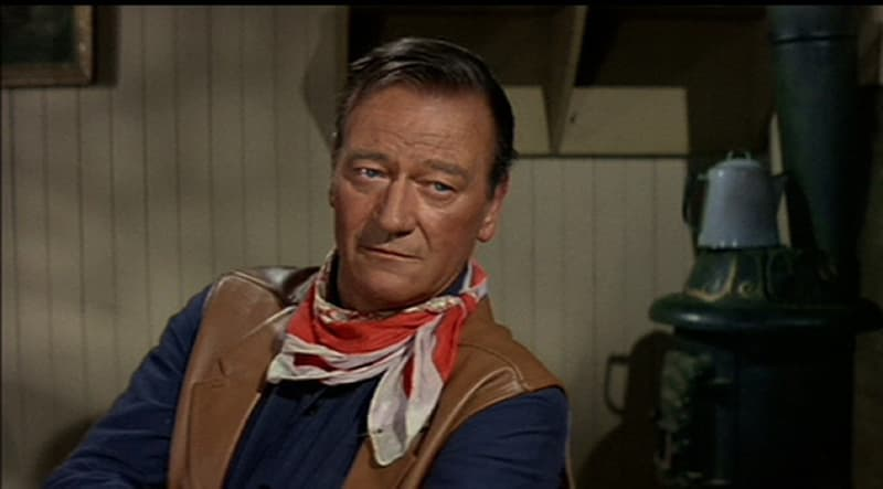 Society Trivia Question: John Wayne has portrayed many a man in uniform. Of all the US Armed Forces, which one, if any, has he NOT portrayed?