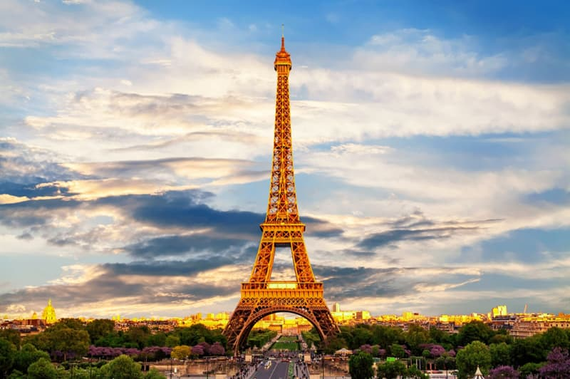 Geography Trivia Question: Where in Paris is the Eiffel Tower located?