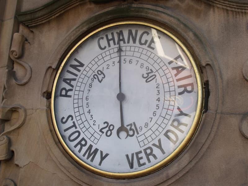 Wissenschaft Wissensfrage: Wie heißt ein Messgerät zur Bestimmung des Luftdrucks?