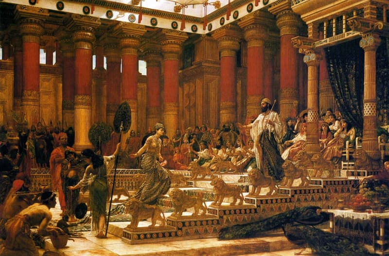 History Trivia Question: What was the name of the hill where King Solomon built his temple?