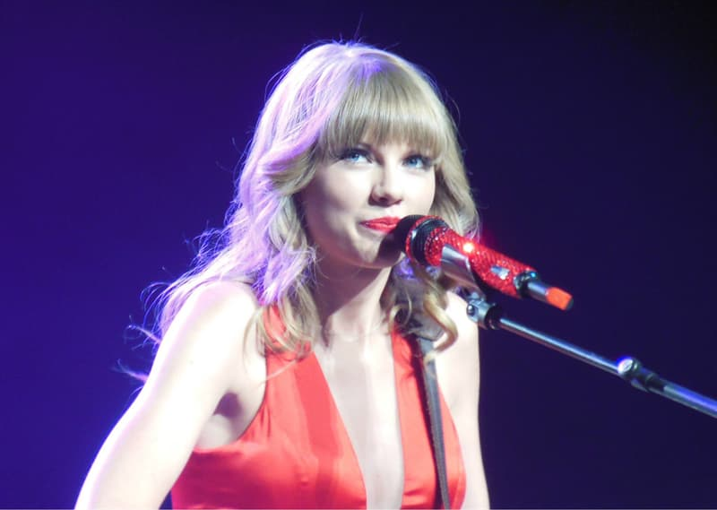Culture Trivia Question: What was the title of Taylor Swift's first studio album?