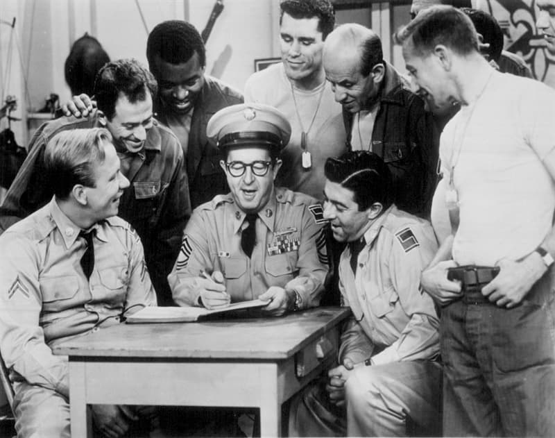 Movies & TV Trivia Question: Where was that American hero, Sergeant Bilko, originally based?