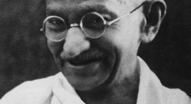 "Culture Trivia Question: Mahatma Gandhi's principle of ""non-violence"" was formally known as?"
