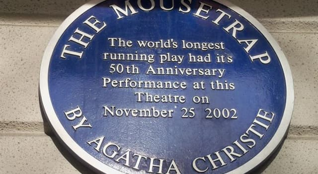 """Culture Trivia Question: """"The Mousetrap"""" is the longest continuously running play ever. In which theatre did it premier?"""