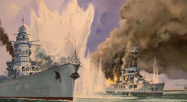"""History Trivia Question: In July 1940, the French battleship """"Bretagne"""" was destroyed by whom?"""
