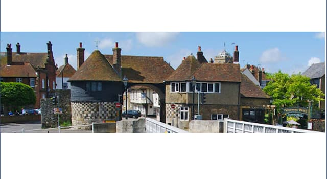 Culture Trivia Question: The name of this town in Kent has become associated with a food eaten around the world. What is its name?