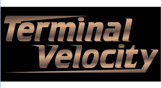 Science Trivia Question: What is terminal velocity?