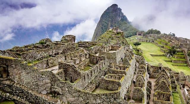 Geographie Wissensfrage: In welchem Land befindet sich die Ruinenstadt Machu Picchu?