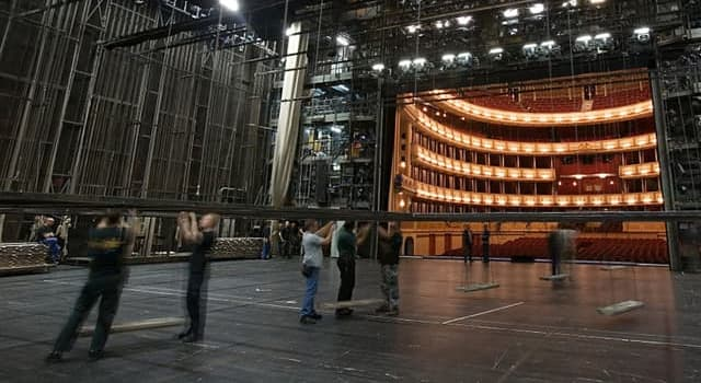 Culture Trivia Question: Members of the acting profession consider it unlucky to do what backstage?
