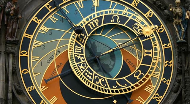 Culture Trivia Question: Which famous novel  begins with thirteen strikes of the clock?
