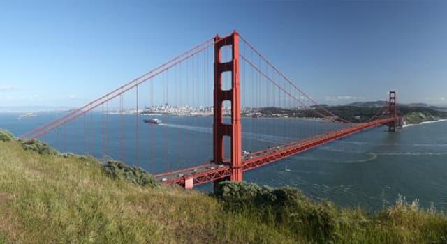 """Географія Запитання-цікавинка: Яке місто США в народі відомий як """"Місто Золотих воріт""""?"""